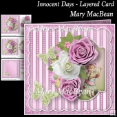 Innocent Days - Layered Card