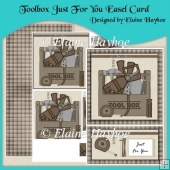 Toolbox Just For You Easel Card & Pyramage