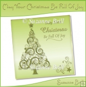 May Your Christmas Be Full Of Joy Card Front