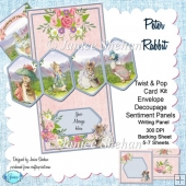 Peter Rabbit Birthday 3D Twist and Pop Card Kit