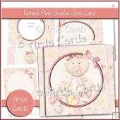 Tickled Pink Shadow Box Card