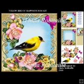 Yellow Bird of Happiness Mini Kit