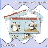 Merry Penguins Money Wallet