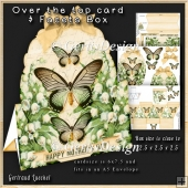 Over The Edge Card Kit lily of the valley