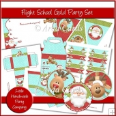 Flight School Gold Party Set
