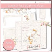 Bundle Of Joy 3 3D Framed Picture