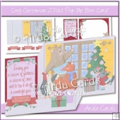 Cosy Christmas Z Fold Pop Up Box Card