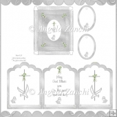 TRI-FOLD 1ST COMMUNION CARD WITH BOX