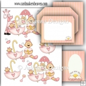Baby Girl Decoupage Set