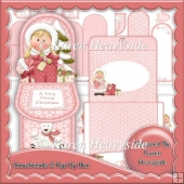 Snowfriends 2 Pop Up Box Card