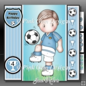 Football Andy 2 Pale Blue Mini Kit With Ages 3 to 7 yrs