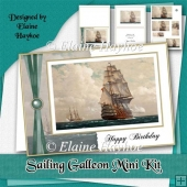Sailing Galleon Birthday Mini Kit