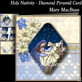 Holy Nativity - Diamond Pyramid Card