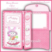 Bunny Bonnets Offset Gatefold Card