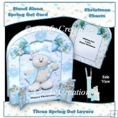 Christmas Charm Spring Out Card