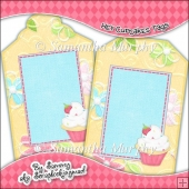 Hey Cupcakes Gift Tags - Ref T704 & Ref T705