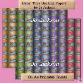 Baby Toys Backing Papers