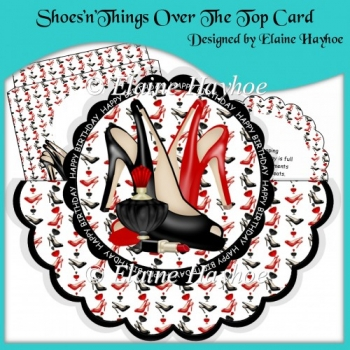 Shoes'n'Things Over The Top Card with Pyramage
