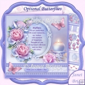 Frosted Rose & Verse Mother's Day 8x8 Kit