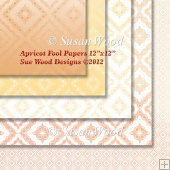 Apricot Fool Paper Pack 12x12""