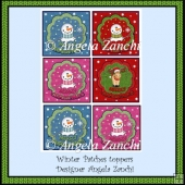 CHRISTMAS PATCHES TOPPERS
