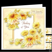 Thinking Of You Yellow Flowers Mini kit