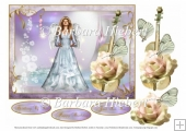 Angelic Music Topper and Decoupage