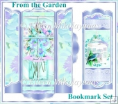 From The Garden Bookmark Set