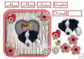 Border Collie Heart