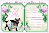 Welcome the Day Combination Topper and/or Inserts