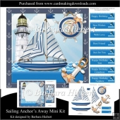 Sailing Anchors Away Mini Kit