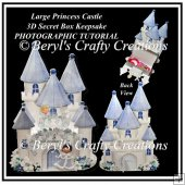 Large Princess Castle Secret Box Photographic Tutorial