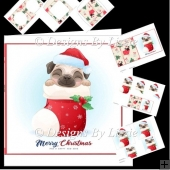 Christmas Pug Mini Kit 4