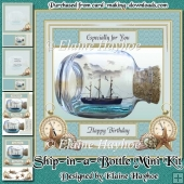 Ship in a Bottle Mini Kit