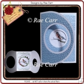 880 Crossfold Circle Card *Multiple MACHINE Formats*