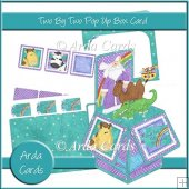 Two By Two Pop Up Box Card
