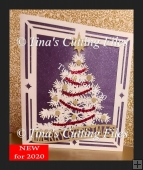 Luxury Christmas Tree Card