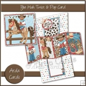 Yee Hah Twist & Pop Card