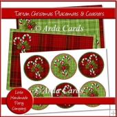 Tartan Christmas Placemats & Coasters