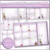 Lovely Blooms Hanging Organiser