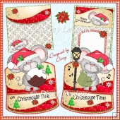 Christmouse Time Easel Cards