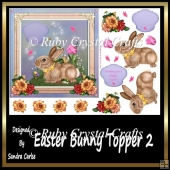 Easter Bunny Topper 2