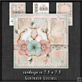 Happy Easter Grunge Shabby Vintage Card Kit 1351