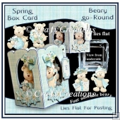 Beary Go Round - Spring Card