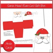 Santa Head Easy Cut Gift Box