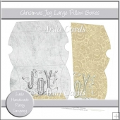 Christmas Joy Large Pillow Boxes