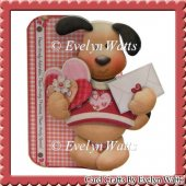 Adorable Puppy Dog Shaped Fold Card Kit