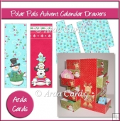 Polar Pals Advent Calendar Drawers