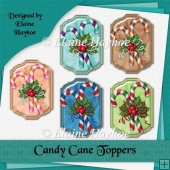 Candy Cane Toppers