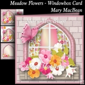 Meadow Flowers Windowbox Card